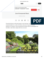 List of Ornamental Plants _ Hunker