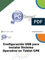 Configurar Usb Para Instalar s. Operativo Tablet Cpe