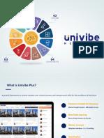 Univibe Plus Explainer to Institutes