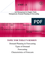 4.  UNIT1-Demand Management in Supply Chain; Demand Planning and Forecasting;.ppt