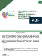 Manejo Seguro de Herramientas Eléctricas
