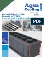 Aqua Cooling Hybrid Adiabatic Cooler
