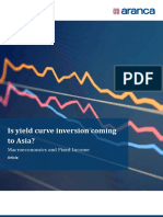Is Yield Curve Inversion Coming to Asia?