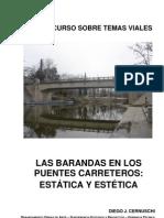 Las Barandas en Los Puentes Carreteros
