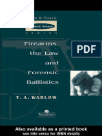 [T a Warlow] Firearms, The Law and Forensic Ballis(BookFi.org)