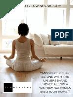 Alside Brochure - Zen Windows the Triangle