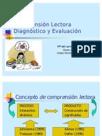 Comprension Lectora Diagnostico y Evaluacion