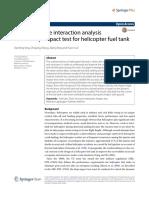 Fluid–structure interaction analysis
