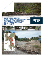 Disaster Risk Reduction Climate Change Adaptation-Enhanced Provincial Development and Physical Framework Plan 2017-2022