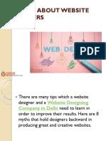 8 MYTHS ABOUT WEBSITE DESIGNERS.pptx