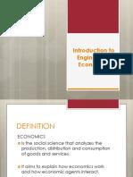 Engineering Economy Introduction