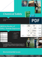 Environmental Health Engineering- Chemical Safety