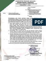 Surat Pemberitahuan HUT RI 74