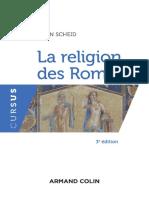 John Scheid La Religion Des Romains