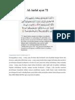 Surat Al Anfal Dan Al Hujurat