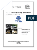 Capstone Rport, Group 14, Tata Motors