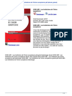 74877948 Telecharger Qcm Lmd Les Institutions de l Union Europ Eacute Enne PDF eBook Gratuit