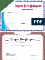 Kumpulan Desain Sertifikat