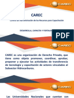 Presentación CAREC - Cusco - Pres