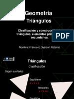 Triángulos - Construcción