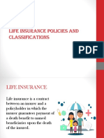 Life Insurance Policies and Classifications 2