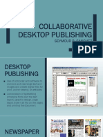 Collaborative Desktop Publishing 1 2