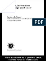 Stephen Tansey - Business, Information Technology and Society (2002)