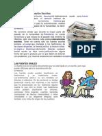 Fuentes De Información Escritas y Oral.docx