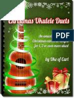 Christmas ukulele duets