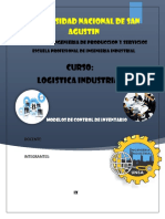 Modelos de Inventarios Logistica