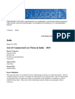List of Commercial Law Firms in India – 2015_New Delhi_India_8!6!2015