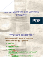 2 Adjectives and Adverbs