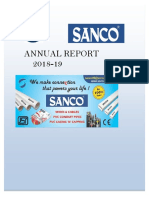 Sanco Annual Report 2019