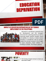 Education Deprivation