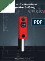 Modern Speaker Building. International MONACOR