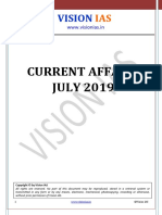 Vision IAS Current Affairs July 2019