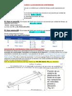 La Ec.continuidad y Bernolli Aplicada en La Ingenieria