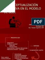 4 - LA CONCEPTUALIZACIÓN COGNITIVA EN EL MODELO DE BECK.pdf