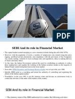 Role of SEBI in Indian Economy