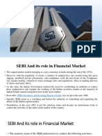 Role of SEBI in Indian Economy