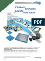 SONITRON - Piezoceramic Speaker SCS-SPS 2014