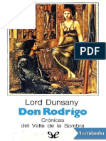 Don Rodrigo - Lord Dunsany