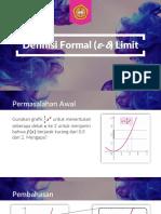 05 Definisi Formal ε δ Limit