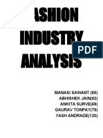 Fashion Industry Analysis Part 1