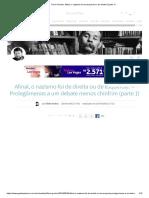 Artigo Flavio Gordon