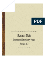 Discounted Promissory Notes 4.2