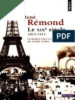 René Rémond - O Século XIX.pdf