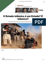 O Estado Islâmico é Um Estado_ É Islâmico