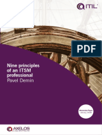ITIL Cleverics Nine-principles