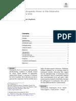 Neutropenia febril en el paciente crítico